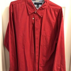Tommy Hilfiger Button Up Shirt - XXL - Plaid